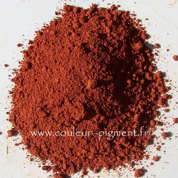 Pigment ocre rouge fonc de provence couleur pigment - Peinture couleur ocre rouge ...