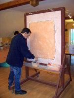 Le stuc la chaux fabrication et application couleur for Stuc a la chaux toupret