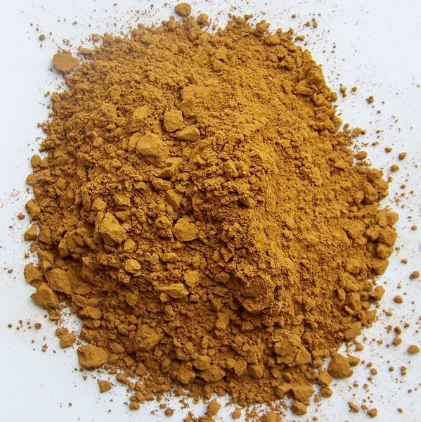 Pigment Terre De Sienne Naturelle Couleur Pigment