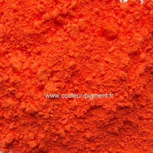 pigment orange minéral