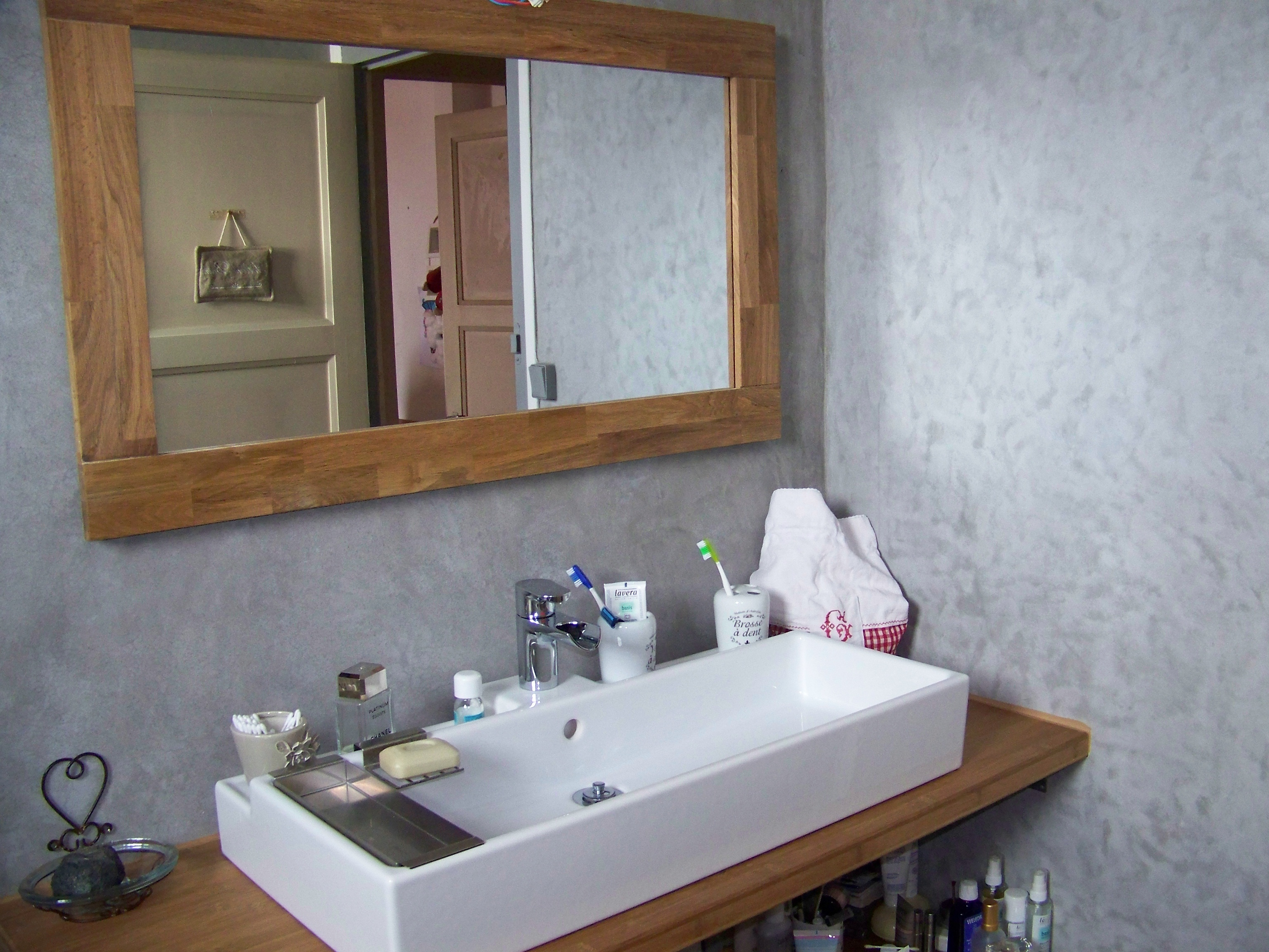 Best Salle De Bain Tadelakt Gris Idees Photos Et Id Es D Coration